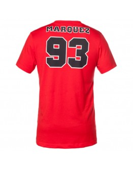 T-Shirt Marc Marquez 93 Red