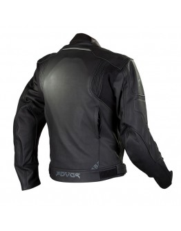 6d382a007a Fovos Tracer Leather Jacket Black Fovos Tracer Leather Jacket Black