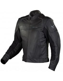 Fovos Tracer Leather Jacket Black