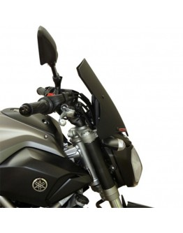 Fabbri Ζελατίνα Yamaha MT-07 14-17 Gen-X Touring Black Matt
