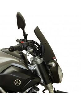 Fabbri Ζελατίνα Yamaha MT-07 14-17 Gen-X Touring Black Matt