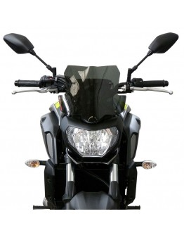 Fabbri Ζελατίνα Yamaha MT-07 18-19 Gen-X Touring Dark Smoke