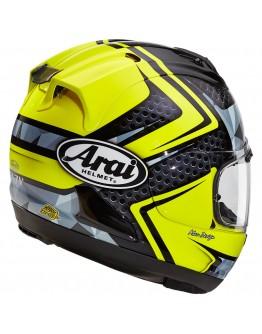 Arai RX-7V Dyno Fluor Yellow