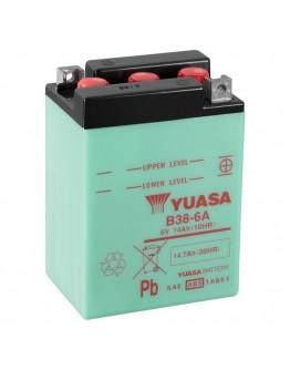 Yuasa Μπαταρία B38-6A 6 Volt 13.7Ah
