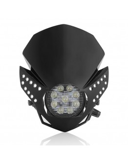 Acerbis Μάσκα Fulmine Led Black