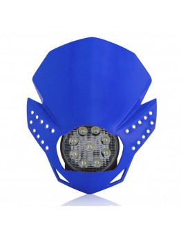 Acerbis Μάσκα Fulmine Led Blue