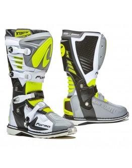 Forma Μπότες Predator 2.0 Grey/White/Yellow-Fluo