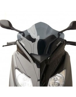 Fabbri Ζελατίνα Yamaha X-Max 125/250 10-12 Racing Dark Smoke