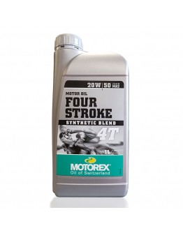 Motorex Λάδι 4T 4-Stroke 20W/50 Ημισυνθετικό 1 Lt