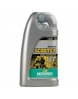 Motorex Λάδι 4T Scooter 10W/30 Ημισυνθετικό 1lt