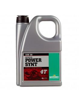 Motorex Λάδι 4T Power 10W/50 100% Συνθετικό 4lt