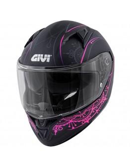 Givi H50.6 Stoccarda Mendhi Black/Pink