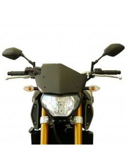 Fabbri Ζελατίνα Yamaha MT-09 13-16 Gen-X Sport Black Matt