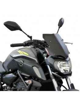 Fabbri Ζελατίνα Yamaha MT-07 18-19 Gen-X Touring Black Matt