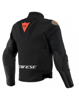 Dainese Indomita D-Dry XT Jacket Black-Matt/Black-Matt/Fluo-Red