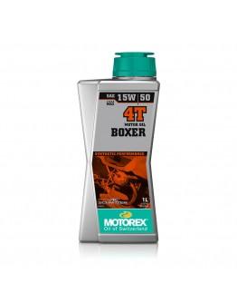 Motorex Λάδι 4T Boxer 15W/50 100% Συνθετικό 1Lt