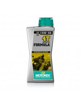Motorex Λάδι 4T Formula 15W/50 Ημισυνθετικό 1lt