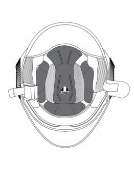 AGV Επένδυση Orbyt Black/Grey Medium