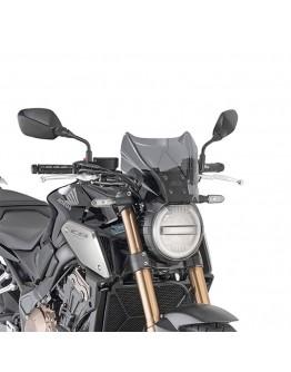 Givi Ζελατίνα Honda CB 650 R 19 / CB 1000 R 18-19 Smoke