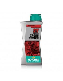 Motorex Λάδι 2T Cross Power 100% Συνθετικό