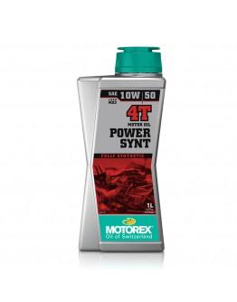 Motorex Λάδι 4T Power 10W/50 100% Συνθετικό 1 Lt