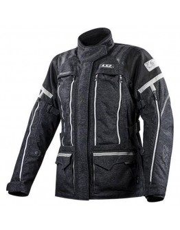 LS2 Nevada  Jacket Black Dark Grey