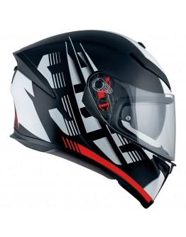 AGV K5 S Darkstorm Matt Black/Red