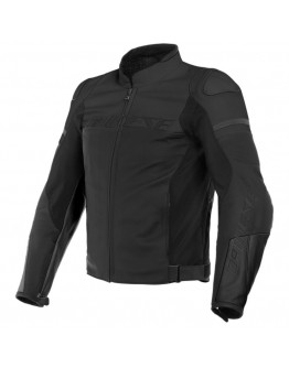 Dainese Agile Leather Jacket Black-Matt
