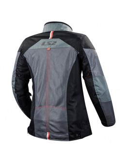LS2 Alba Lady Jacket Dark Grey