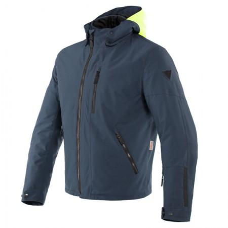 Dainese Mayfair D-Dry Jacket Fluo-Yellow/Ebony/Ebony