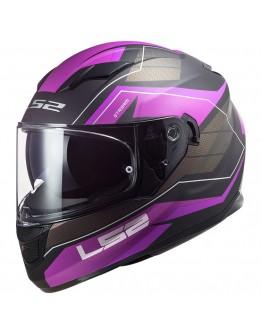 LS2 FF320 Stream Evo Mercury Matt Titanium Purple