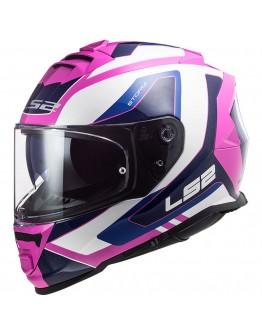LS2 FF800 Storm Techy White Pink
