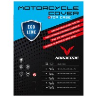 Nordcode Κουκούλα Μοτοσικλέτας Cover Moto Eco Line Για Βαλίτσα