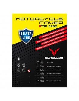 Nordcode Κουκούλα Μοτοσικλέτας Cover Moto Silver Line για Βαλίτσα