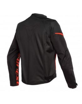 Dainese Bora Air Tex Jacket Black/Fluo-Red