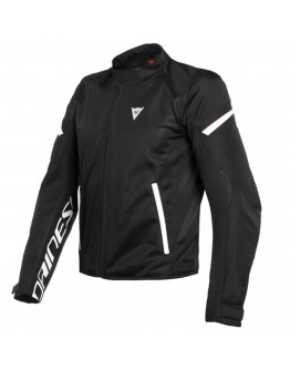 Dainese Bora Air Tex Jacket Black/White