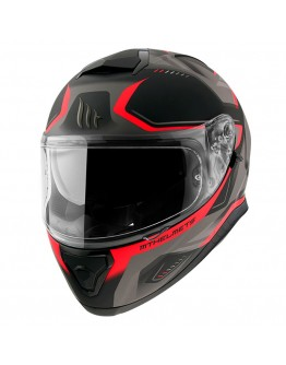 MT Thunder 3 SV Turbine Matt Black/Red C5