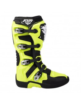 FXR Μπότες Factory Ride Hi-Vis/Black