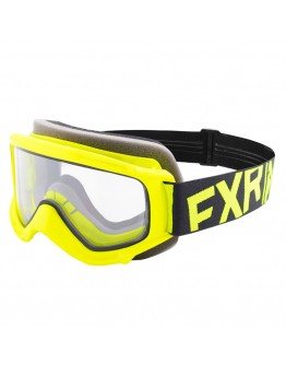 FXR MX Μάσκα Παιδική Throttle Hi-Vis/Black