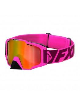 FXR MX Μάσκα Maverick Dual Lens Electric Pink/Plum