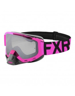 FXR MX Μάσκα Boost XPE Electric Pink/Black