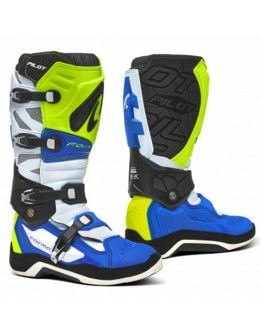 Forma Μπότες Pilot White/Fluo/Blue