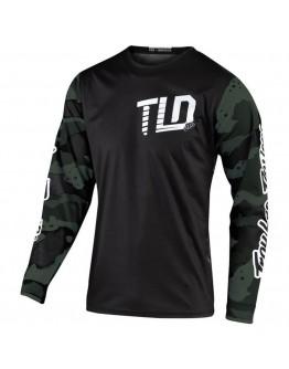 TLD MX Μπλούζα GP Camo Green/Black