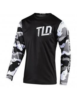 TLD MX Μπλούζα GP Camo White/Black