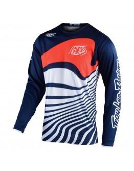 TLD MX Μπλούζα GP Drift Navy/Orange
