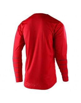 TLD MX Μπλούζα GP Pinstripe Red/Gray