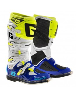 Gaerne Μπότες SG12 Blue/White/Yellow Fluo