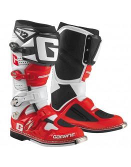 Gaerne Μπότες SG12 White/Red/Black