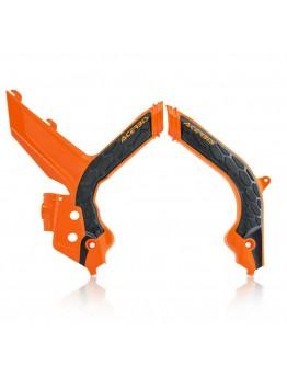 Acerbis Προστασία Σκελετού X-Grip ΚΤΜ EXC/EXC-F/XC-W/XCF-W Orange/Black
