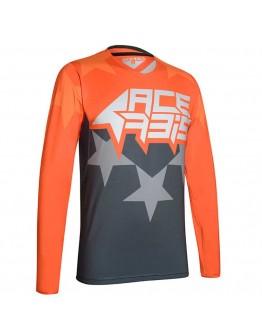 Acerbis MX Μπλούζα X-Flex Starchaser Orange/Gray
